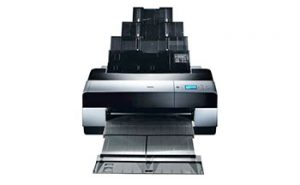 Epson 3880 Borderless, Communication and Paper Error