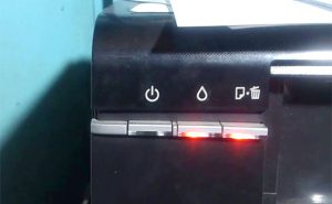 Epson L800 Red Light, Both, Orange and All Light Blinking Problem