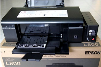 Epson L800 Service Required and CD Tray Problem